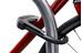 Hiplok DX Zapięcie kablowe czarny